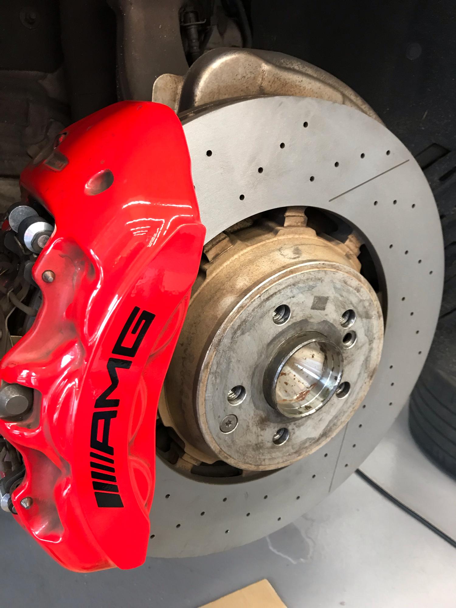 メルセデスベンツ S63 W222 AMG パッド交換 ローター研磨