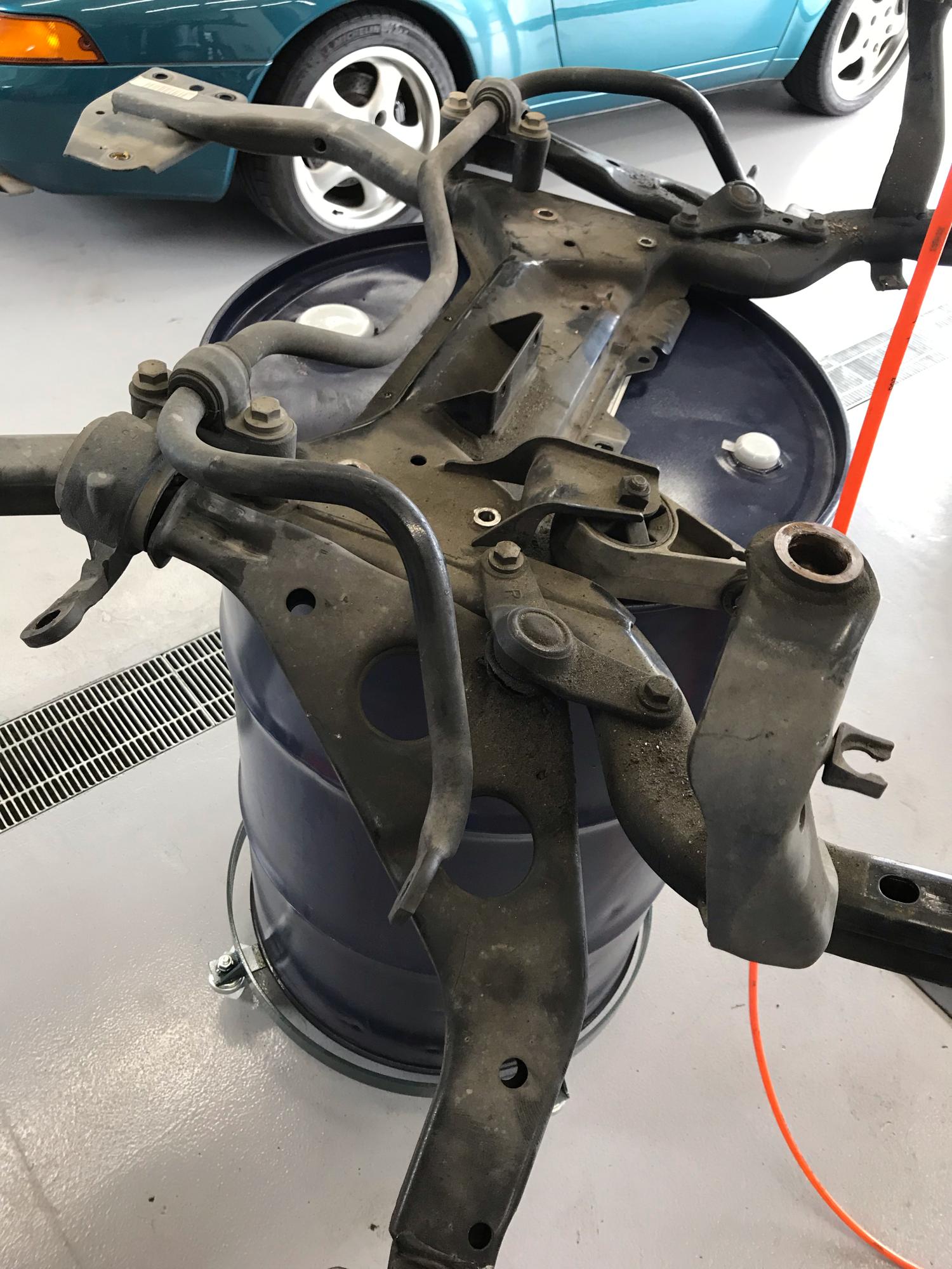 R50ミニ ロアコントロールブッシュ交換